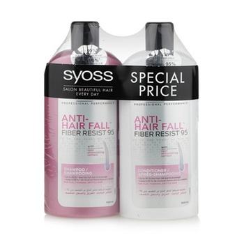Syoss Anti Hair Fall Shampoo + Conditioner 500ml @ 25% Off