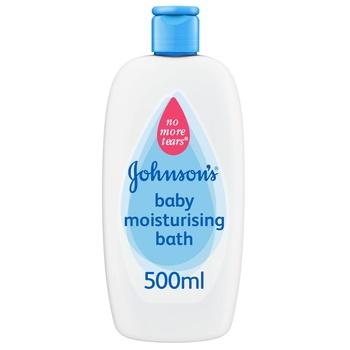 Johnsons Baby Moisturising Bath 500 ml