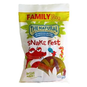 The Natural Jelly Snakefest 350g