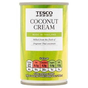 Tesco Ingredient Coconut Cream 160ml