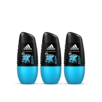 Adidas Ice Dive Deo Roll On 50ml Pack of 3