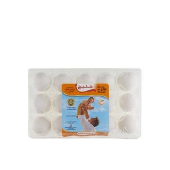 Khaleej White Eggs - Medium 15 s