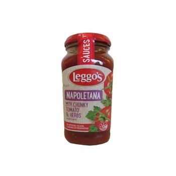 Leggos Napoletana With Chunky Tomato & Herbs Pasta Sauce 500g