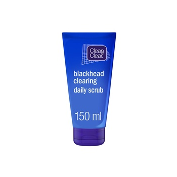 Johnson & Johnson Clean & Clear Black Head Clearing Daily Scrub Oil Free 150ml