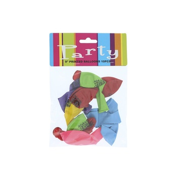 Balloon Printed - 10 pc pack
