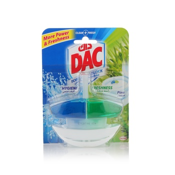 DAC Toilet Rim Block Cleaner Pine 60ml
