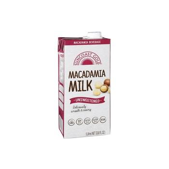 Suncoast Gold Unsweetened Macadamia Milk1Ltr