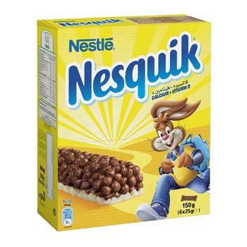 Nestle Nesquik Cereal Bar 6X25g @15%Off