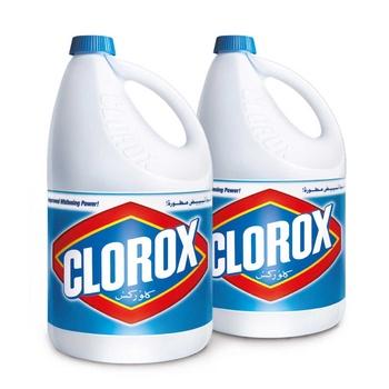 Clorox Regular Bleach 1 Gallon Pack Of 2