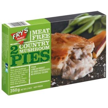 Frys County Mushroom Pie 350g
