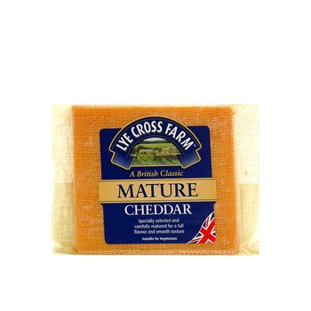 LXF Mature Coloured Cheddar Cheese 200g