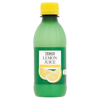 Tesco Ingredient Lemon Juice 250ml