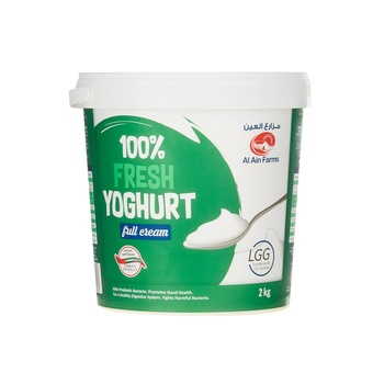 Al Ain Fresh Yoghurt Full Cream 2kg