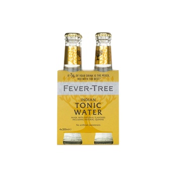Fever Tree Indian Tonic Water 4 X 200 ml