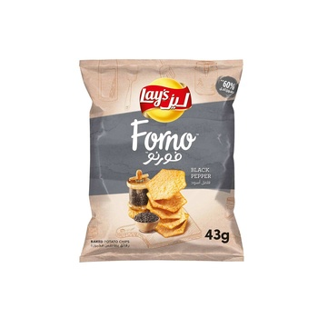 Lays Forno (Baked) Black Pepper 43g