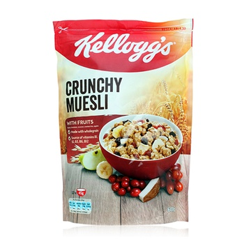 Kellogs Crunchy Muesli with Chocolate 600g