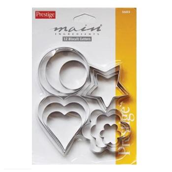Prestige Biscuit Cutters 12 Pcs