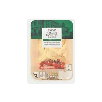 Tesco Tomato And Pancetta Ravioli 300g