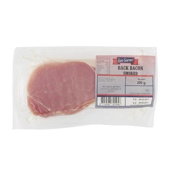 Euro Gourmet Smoked Back Bacon 200g