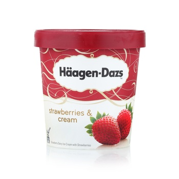 Haagen Dazs Strbry&Cream 500Ml
