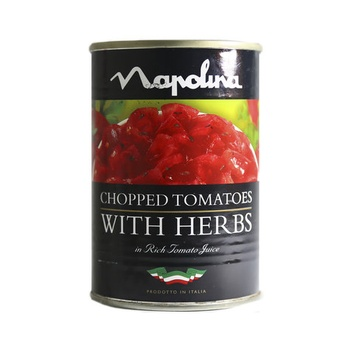 Napolina Chopped Tomato With Herbs 400g