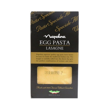 Napolina Egg Pasta Lasagna 375g