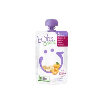 Organic Bubs Banana & Apricot Power Porridge 120g