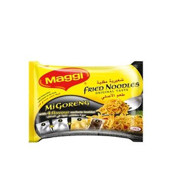 Maggi Mi Goreng Original Fried Noodles 5 X 72g