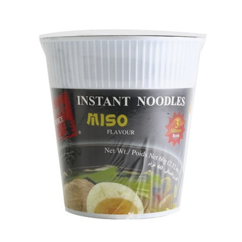 Japanese Choice Instant Cup Noodles Miso Flavor 60g