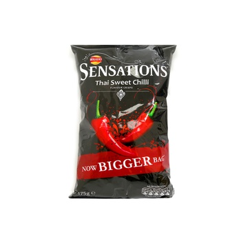 Walkers Potato Chips Sensation Thai Sweet Chili 175g