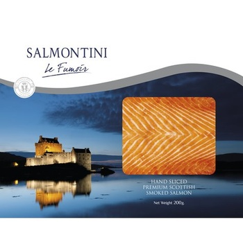Salmontini Smoked Salmon 200g