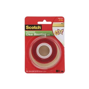 3M Scotch Heavy Duty Clear Mounting Tape