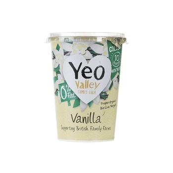 Yeo Valley Organic Yoghurt Peach and Apricot 450g