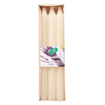 Samar Taper Candle 6Pc Ivory-Vanilla