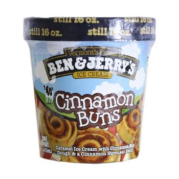 Ben & Jerrys Cinnamon Buns Ice Cream 473ml