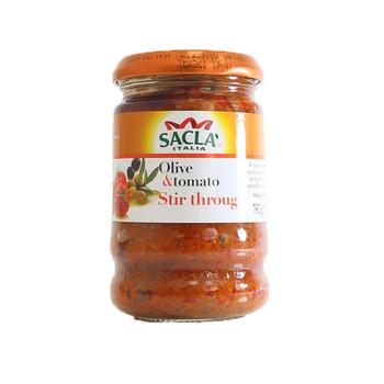 Sacla Olive & Tomato Stir Through 190g