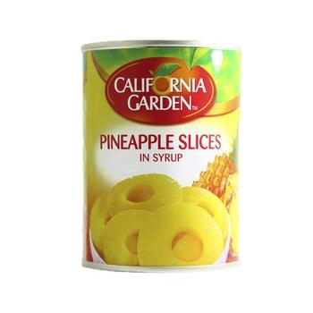 California Garden Pineapple Slice In Syrup 565g