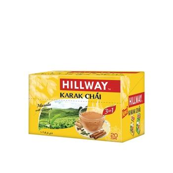 Hillway 3 In 1 Karak Chai Ging Masala 18g