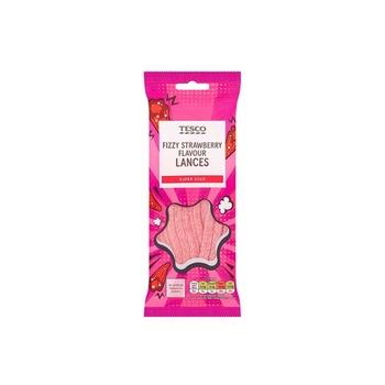 Tesco Strawberry Flavour Lances 75g