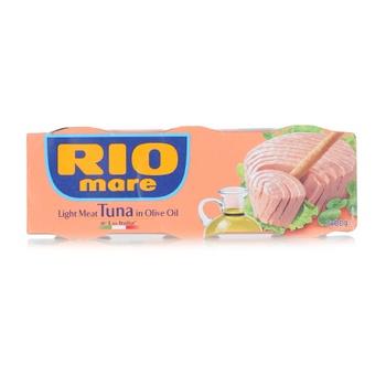 Rio Mare Light Meat Tuna In Olive Oil 3x80g