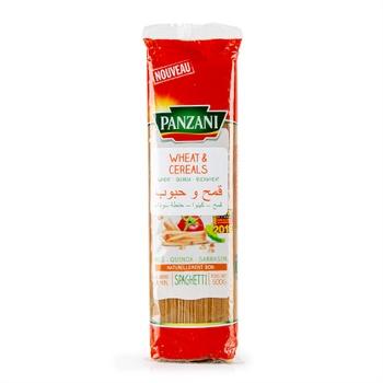 Panzani Spaghetti Wheat & Cereal 500G