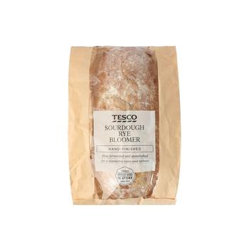 Tesco Sourdough Rye Bloomer