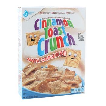 General Mills Cinnamon Toast Crunch 358g