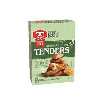 Tegel Qunoa Crumbd Chicken Tenders Gluten Free 365g