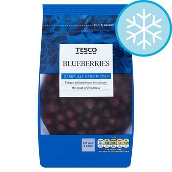 Tesco frozen blueberries 400gm