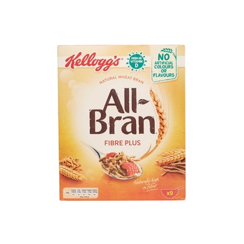 Kellogs All Bran Fibre Plus 375G