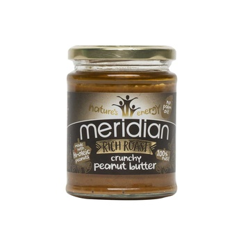 Meridian roasted rich peanut butter 280g