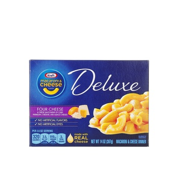 Kraft Macaroni & Cheese With Four Cheese Sauce 397g