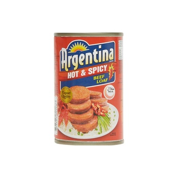 Argentina Hot &Spicy Beef Loaf (Halal)150g