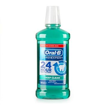 Oral B Pro Expert Mouthwash Deep Clean 500ml